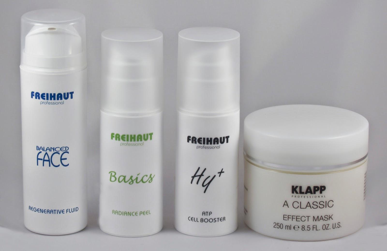 Algunos de los productos que utilizamos en nuestro tratamiento