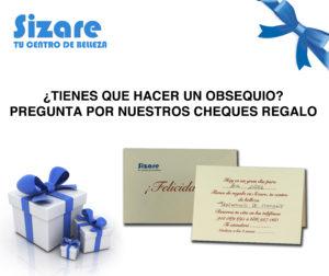 Tarjeta regalo en Sizare, tu Centro de Belleza en Fuenlabrada